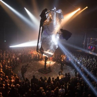 "TRASH TALK: Fuerzabruta @RoundhouseLDN reinvents the ""Roadie"""