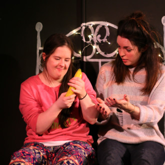 Joy review, Theatre Royal Stratford East: Two actors with Downs Syndrome portraying their everyday reality